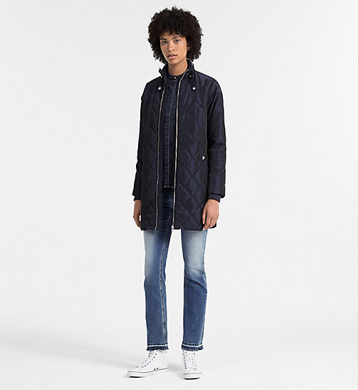 CKCOLLECTION Quilted Coat - PATRIOT BLUE - CK JEANS  - detail image 1