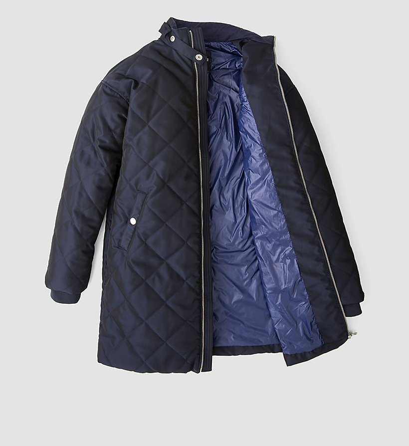 CALVIN KLEIN JEANS Quilted Coat - PATRIOT BLUE - CALVIN KLEIN JEANS OUTERWEAR - detail image 4