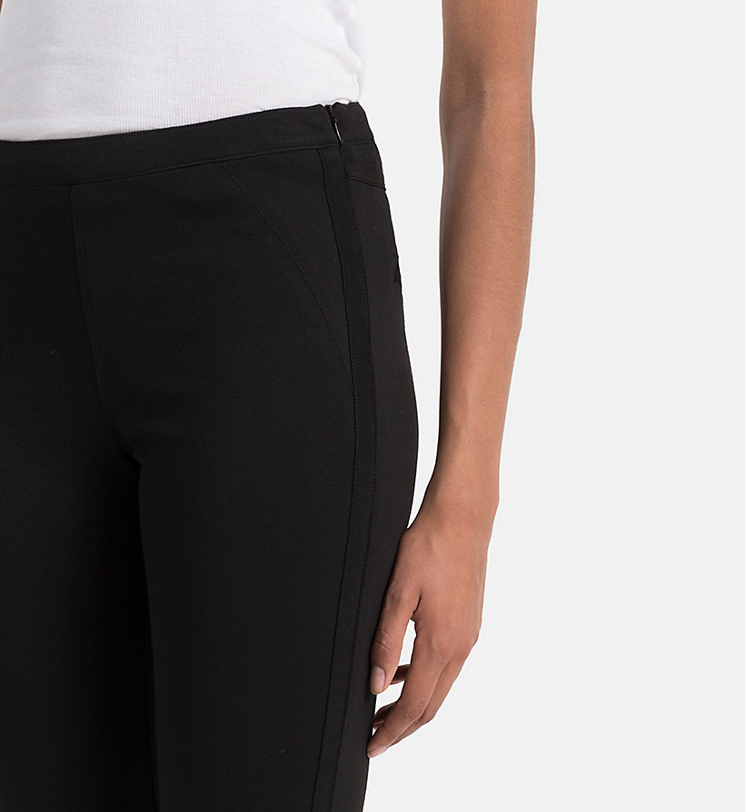 CKJEANS Punto Milano Trousers - CK BLACK - CK JEANS TROUSERS - detail image 2