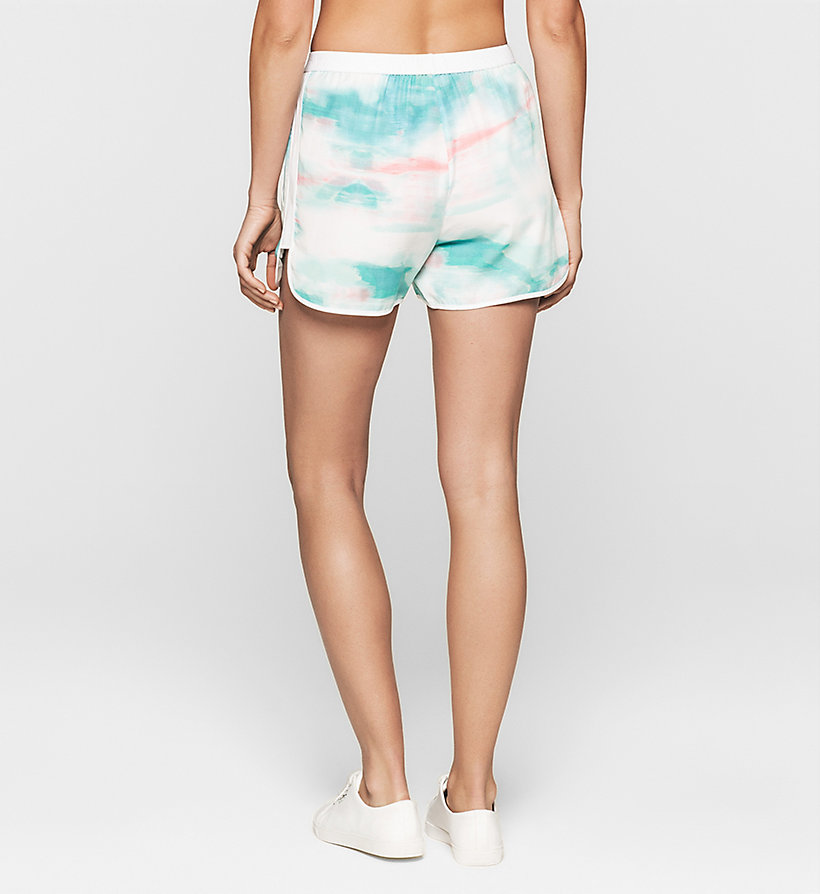 CKJEANS Printed Shorts - MULTI SHADOW AOP - CK JEANS SHORTS - detail image 1