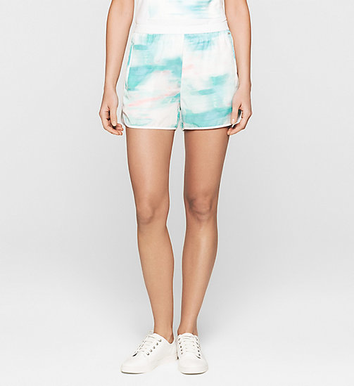 Printed Shorts - MULTI SHADOW AOP - CK JEANS SHORTS - main image