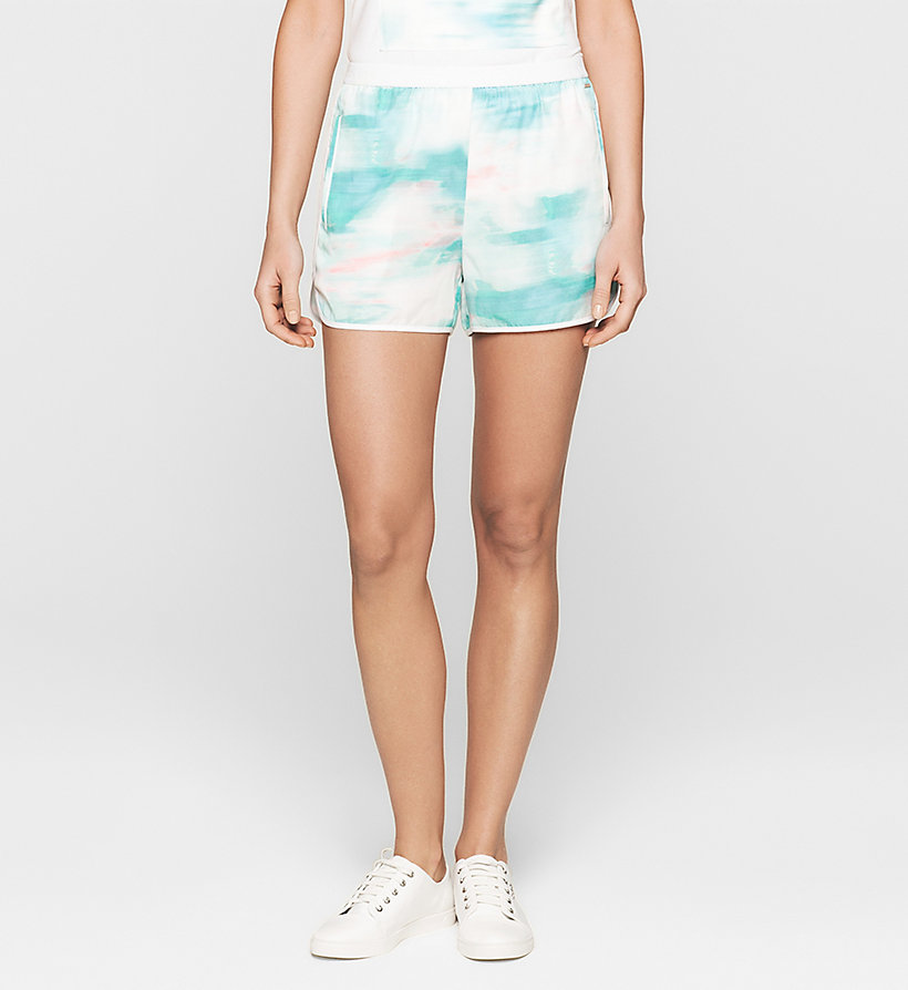 CKJEANS Printed Shorts - MULTI SHADOW AOP - CK JEANS SHORTS - main image