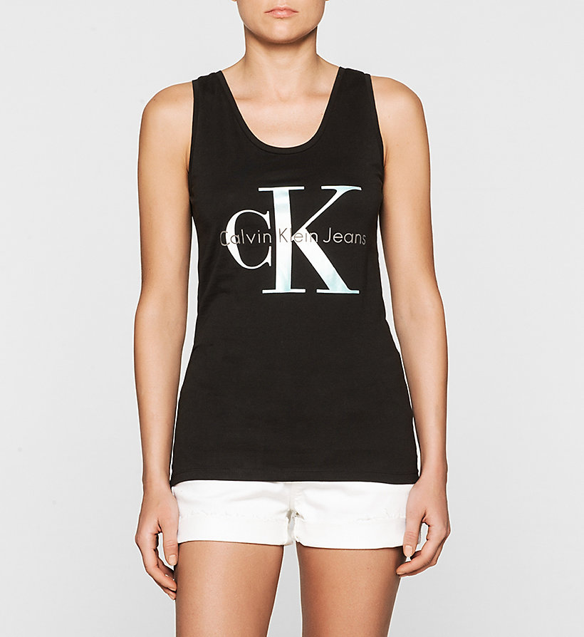 CKJEANS Logo Tank Top - BRIGHT WHITE - CK JEANS T-SHIRTS - main image
