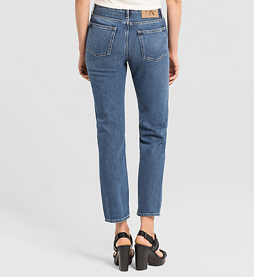 CKJEANS High Rise Straight Ankle Jeans - VINTAGE MID - CK JEANS DENIM REFRESH - detail image 1