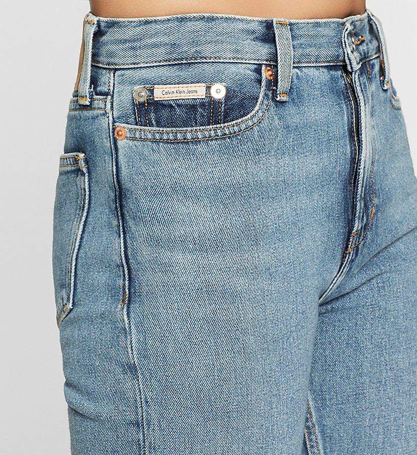 CKJEANS High Rise Straight Ankle Jeans - VINTAGE LIGHT - CK JEANS JEANS - detail image 2