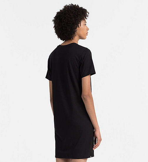 CKJEANS Logo T-shirt Dress - CK BLACK - CK JEANS DRESSES - detail image 1