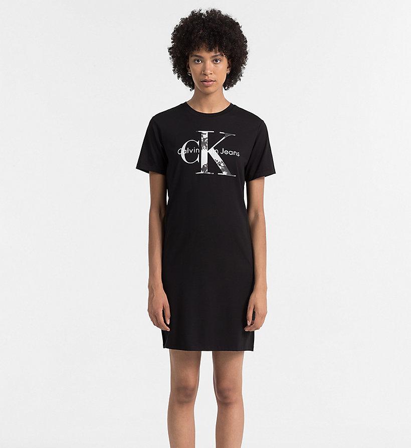 Logo t shirt dress calvin klein j20j205502 for Logo t shirt dress