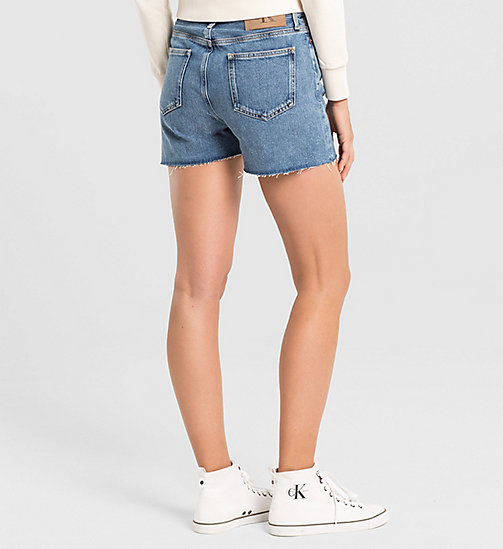 CKJEANS High Rise Cut-Off Shorts - VINTAGE LIGHT - CK JEANS DENIM REFRESH - detail image 1
