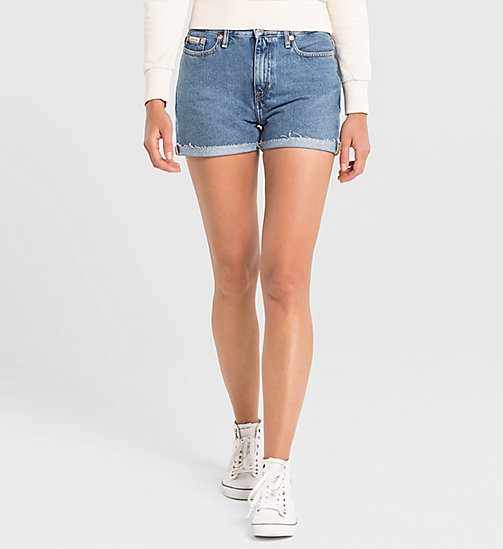 CKJEANS High Rise Cut-Off Shorts - VINTAGE LIGHT - CK JEANS DENIM REFRESH - main image