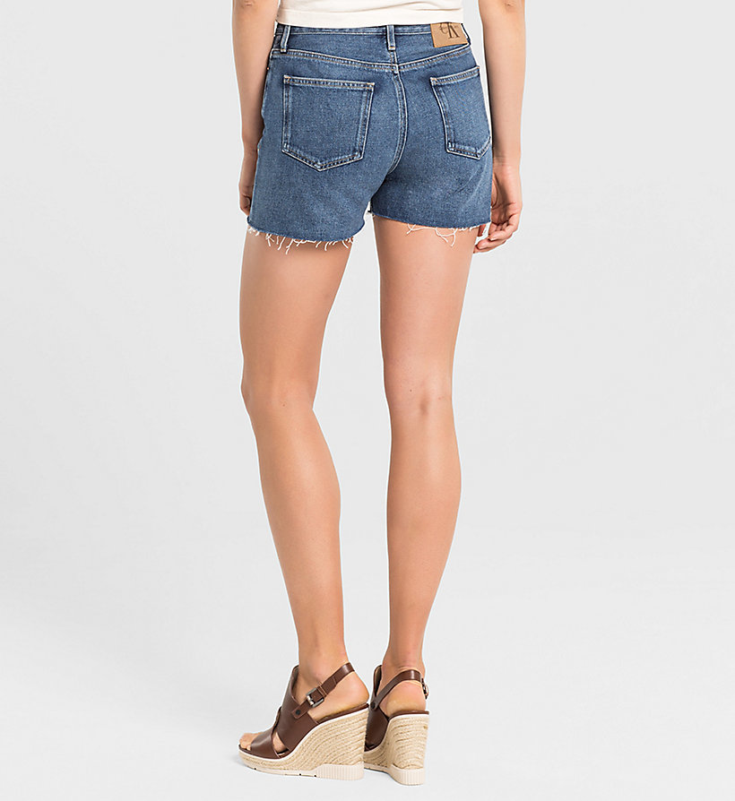 CKJEANS High Rise Cut-Off Shorts - VINTAGE MID - CK JEANS CLOTHES - detail image 1