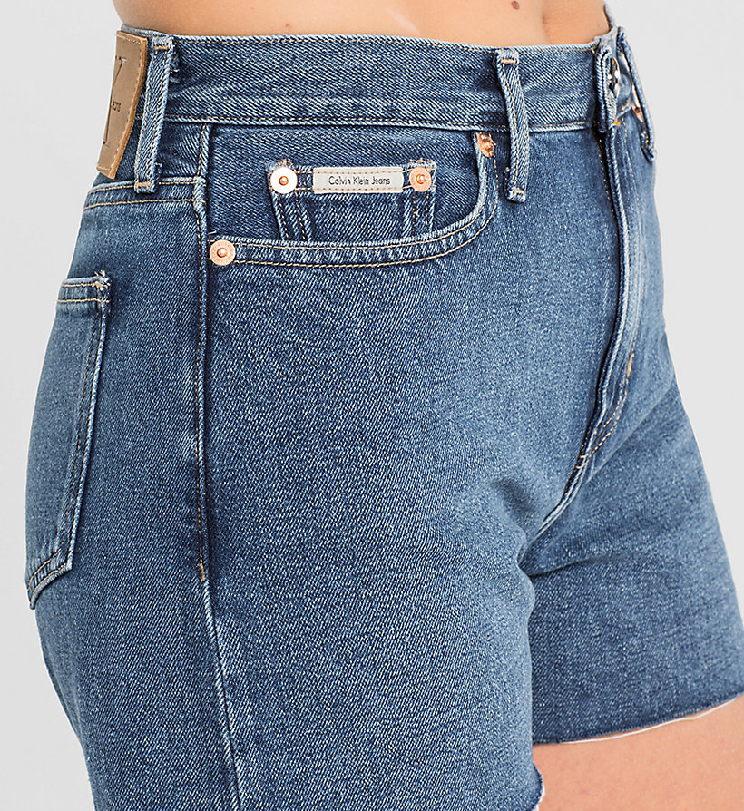 CKJEANS High Rise Cut-Off Shorts - VINTAGE MID - CK JEANS CLOTHES - detail image 2