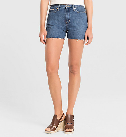 CKJEANS High Rise Cut-Off Shorts - VINTAGE MID - CK JEANS DENIM REFRESH - main image