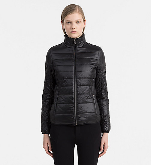 CALVIN KLEIN JEANS Reversible Padded Jacket - CK BLACK - CALVIN KLEIN JEANS JACKETS - main image