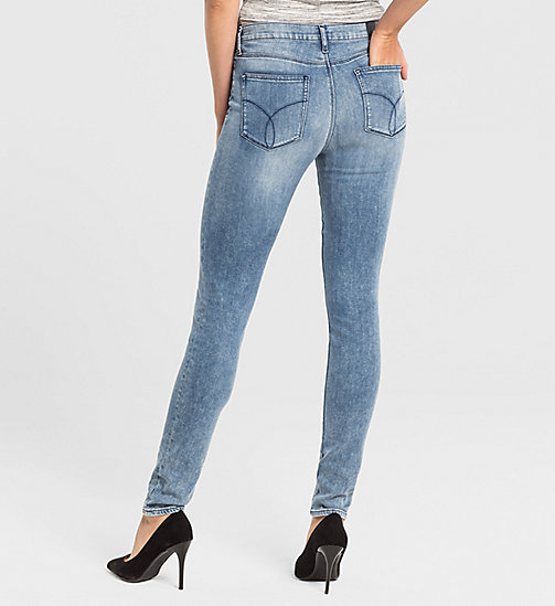 CKJEANS High Rise Skinny Jeans - YESTERDAY BLUE - CK JEANS CLOTHES - detail image 1