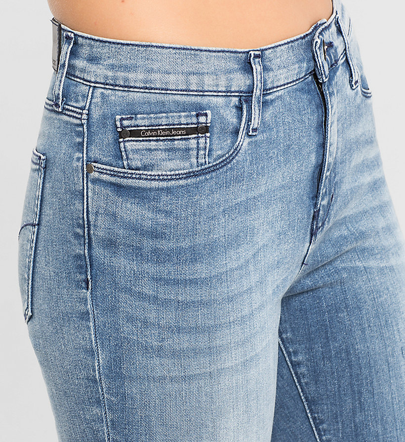 CKJEANS High Rise Skinny Jeans - YESTERDAY BLUE - CK JEANS JEANS - detail image 2