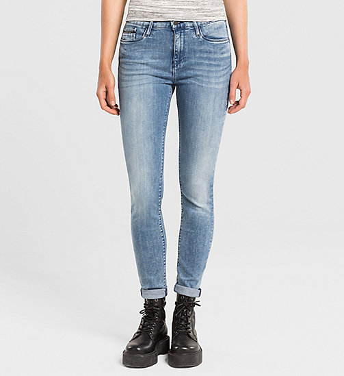 High Rise Skinny Jeans - YESTERDAY BLUE - CK JEANS JEANS - main image