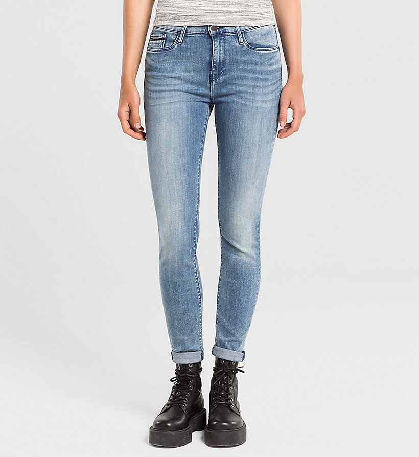 CKJEANS High Rise Skinny Jeans - YESTERDAY BLUE - CK JEANS JEANS - main image
