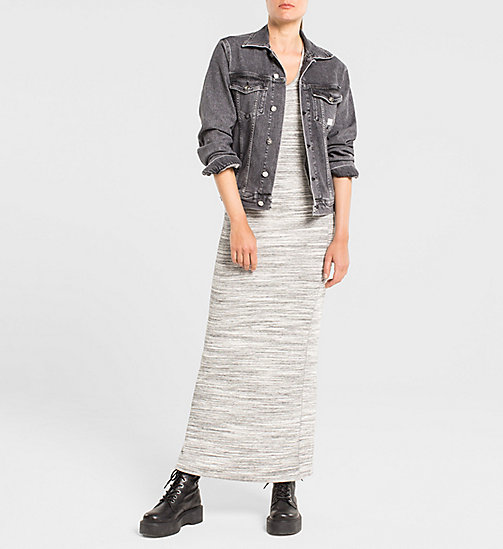 Jersey-Maxi-Kleid - LIGHT GREY HEATHER BC04 - VOL39 - CK JEANS KLEIDER - main image 1
