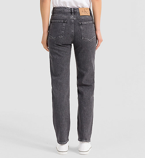 CALVIN KLEIN JEANS High-Rise Straight-Ankle-Jeans - VINTAGE BLACK - CALVIN KLEIN JEANS STRAIGHT JEANS - main image 1