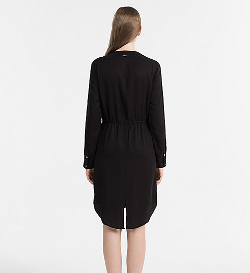 CALVIN KLEIN JEANS Shirt Dress - CK BLACK - CALVIN KLEIN JEANS DRESSES - detail image 1