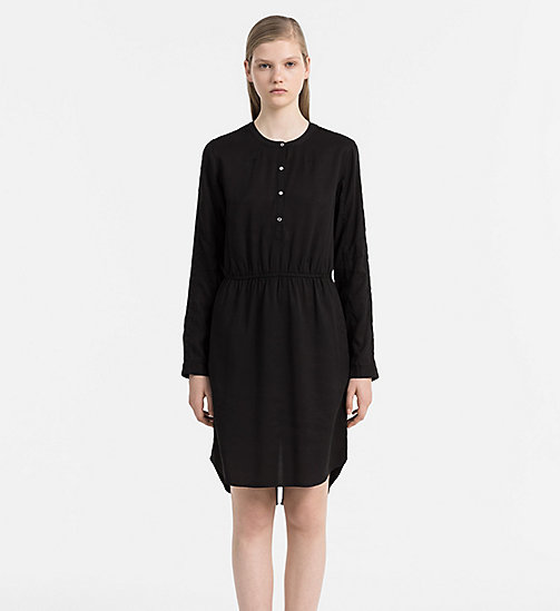 CALVIN KLEIN JEANS Shirt Dress - CK BLACK - CALVIN KLEIN JEANS DRESSES - main image