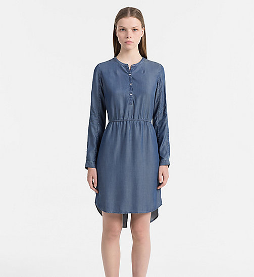 CALVIN KLEIN JEANS Shirt Dress - INDIGO - CALVIN KLEIN JEANS CLOTHES - main image
