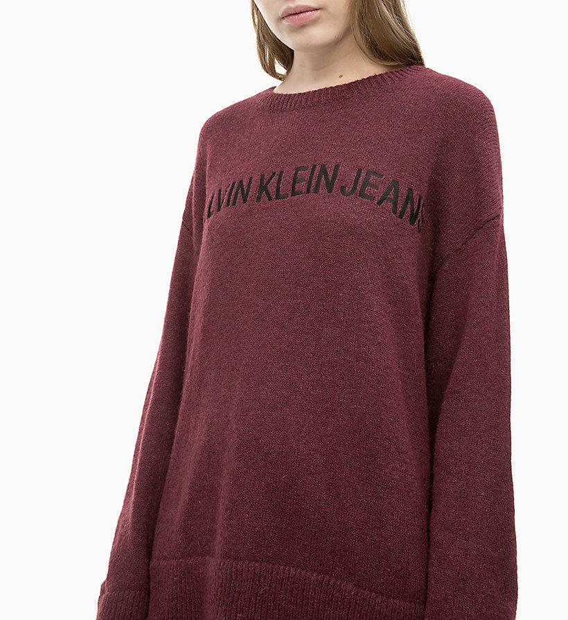 Calvin Klein - Oversized Wool Alpaca Jumper - 3