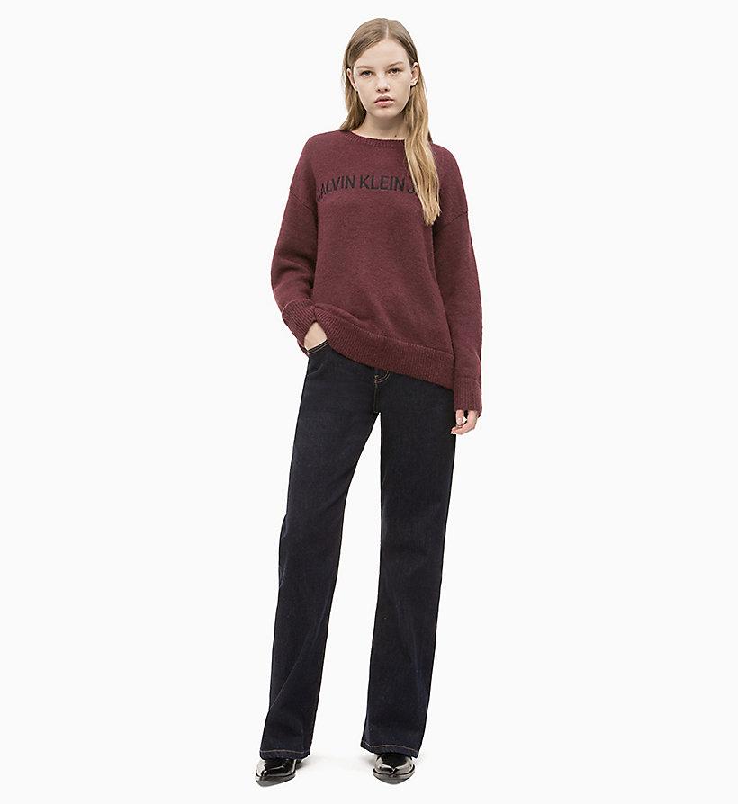 Calvin Klein - Oversized Wool Alpaca Jumper - 4