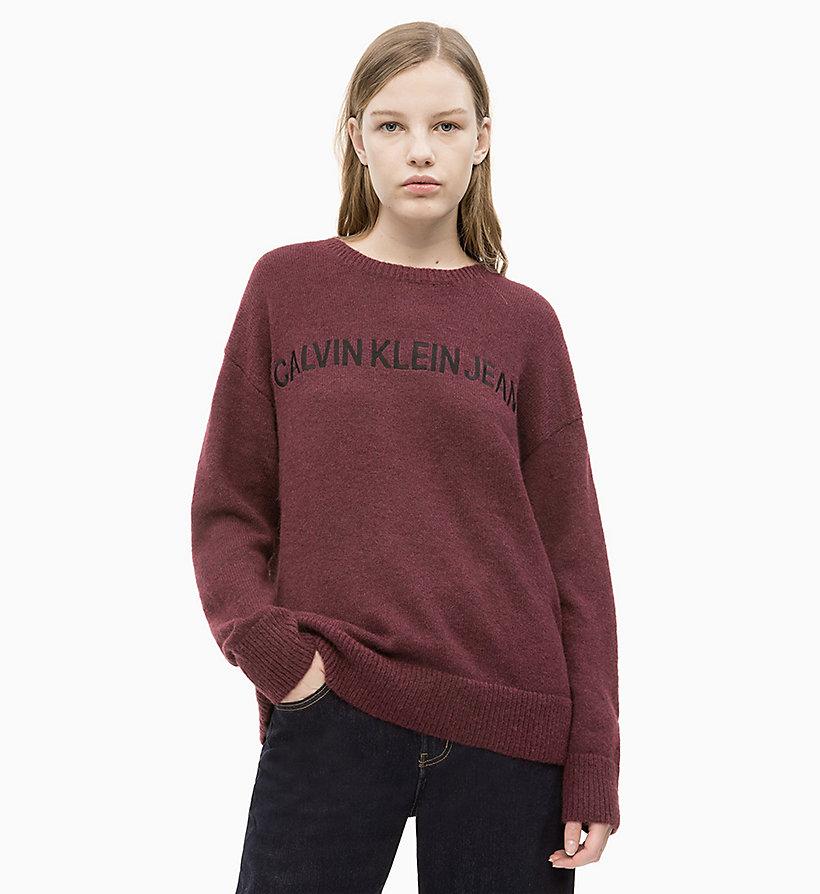 Calvin Klein - Oversized Wool Alpaca Jumper - 1