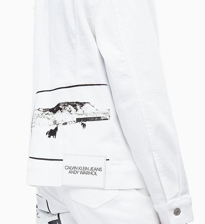 Calvin Klein - Andy Warhol Denim Trucker Jacket - 3