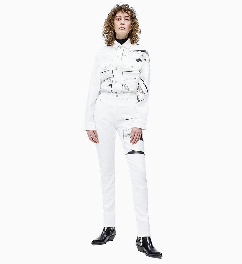 Calvin Klein - Andy Warhol Denim Trucker Jacket - 4