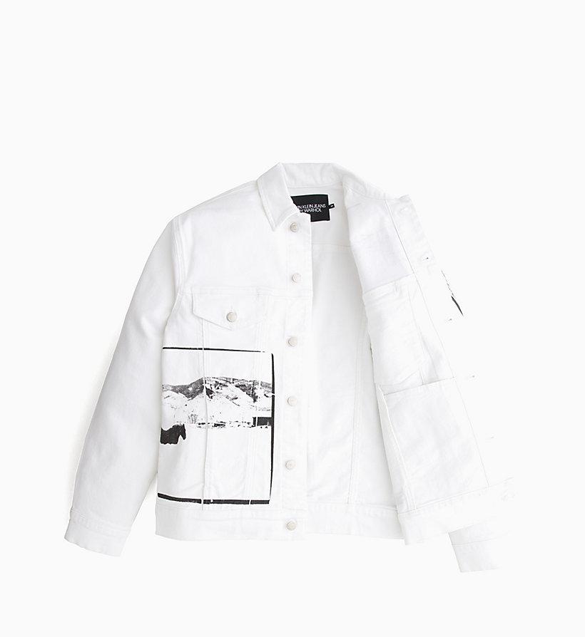 Calvin Klein - Andy Warhol Denim Trucker Jacket - 5