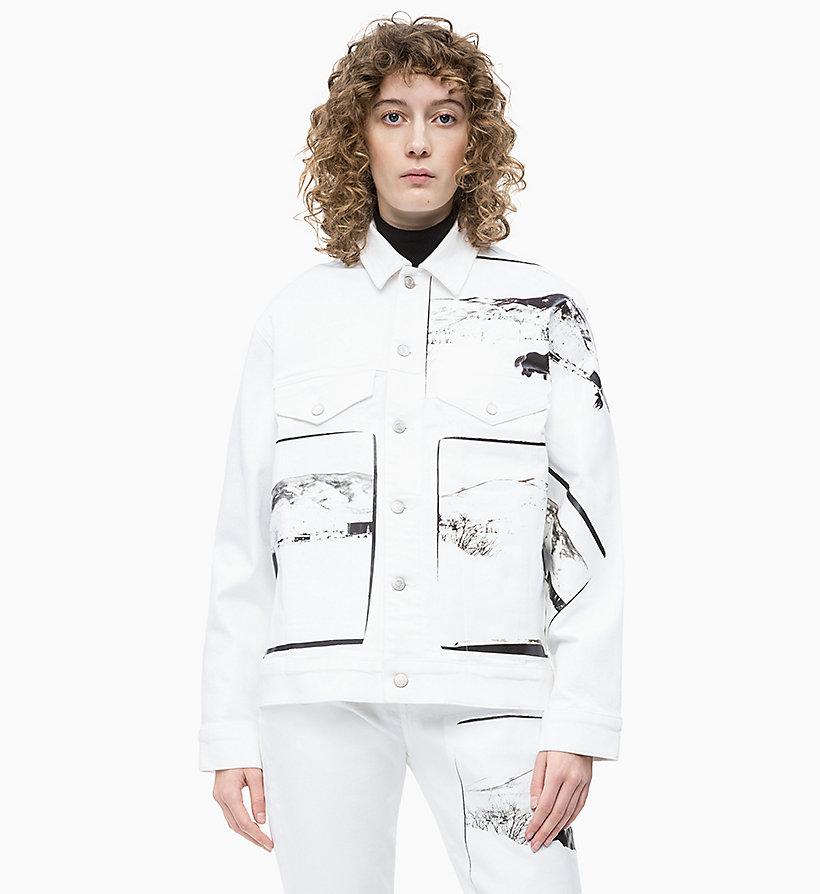 Calvin Klein - Andy Warhol Denim Trucker Jacket - 1