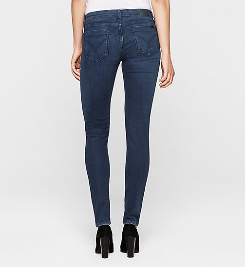 CKJEANS Mid Rise Skinny Jeans - SATIN DARK STRETCH - CK JEANS JEANS - detail image 1