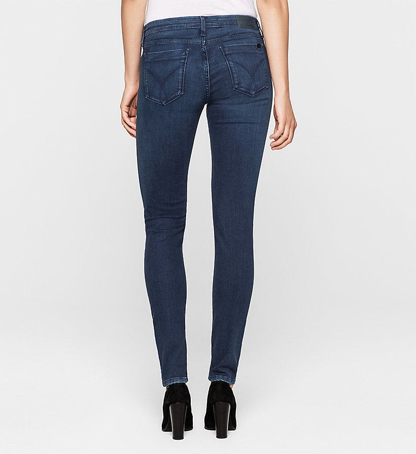 CKJEANS Mid-Rise Skinny-Jeans - SATIN DARK STRETCH - CK JEANS JEANS - main image 1