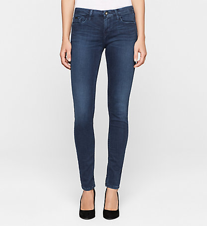 CALVIN KLEIN JEANS Mid-Rise Skinny-Jeans J2EJ201779814