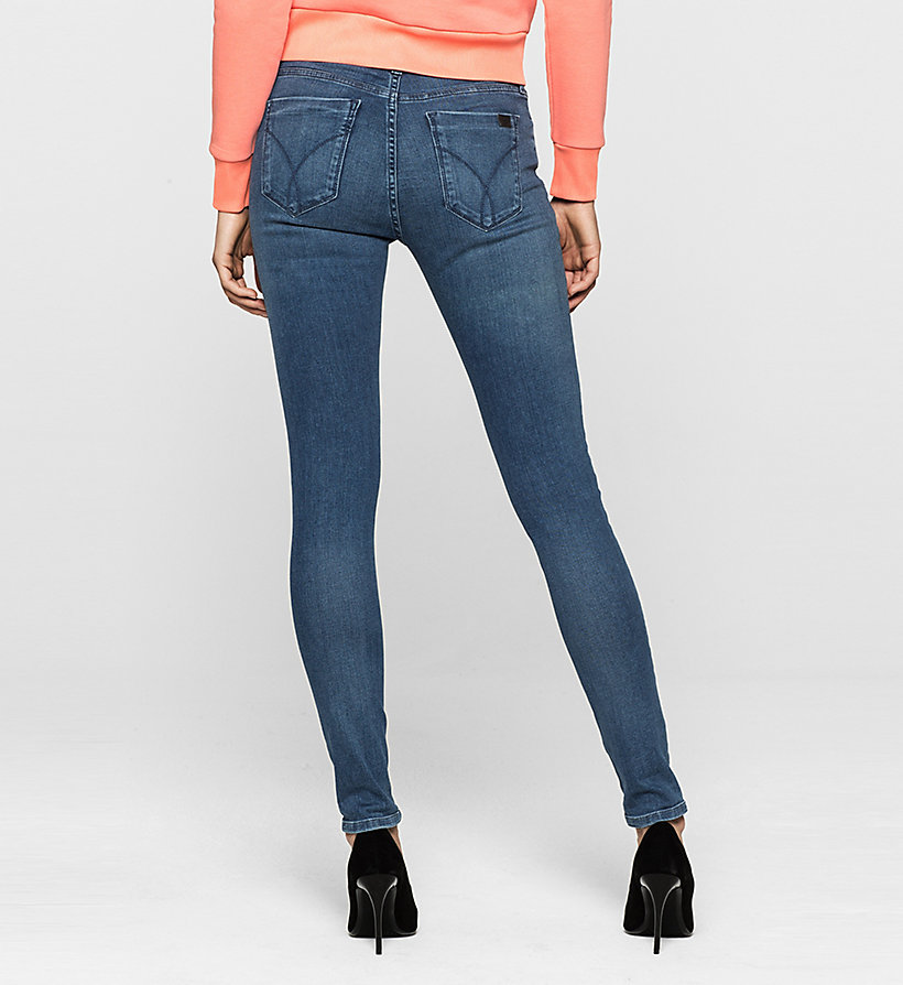 CKJEANS Mid-Rise Skinny-Jeans - SATIN MID STRETCH - CK JEANS JEANS - main image 1