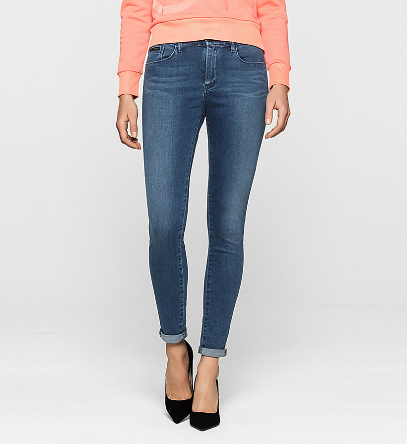 CKJEANS Mid-Rise Skinny-Jeans - SATIN MID STRETCH - CK JEANS JEANS - main image