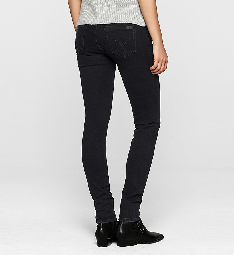 CKJEANS Mid Rise Skinny Jeans - SATIN RINSE STRETCH - CK JEANS JEANS - detail image 1