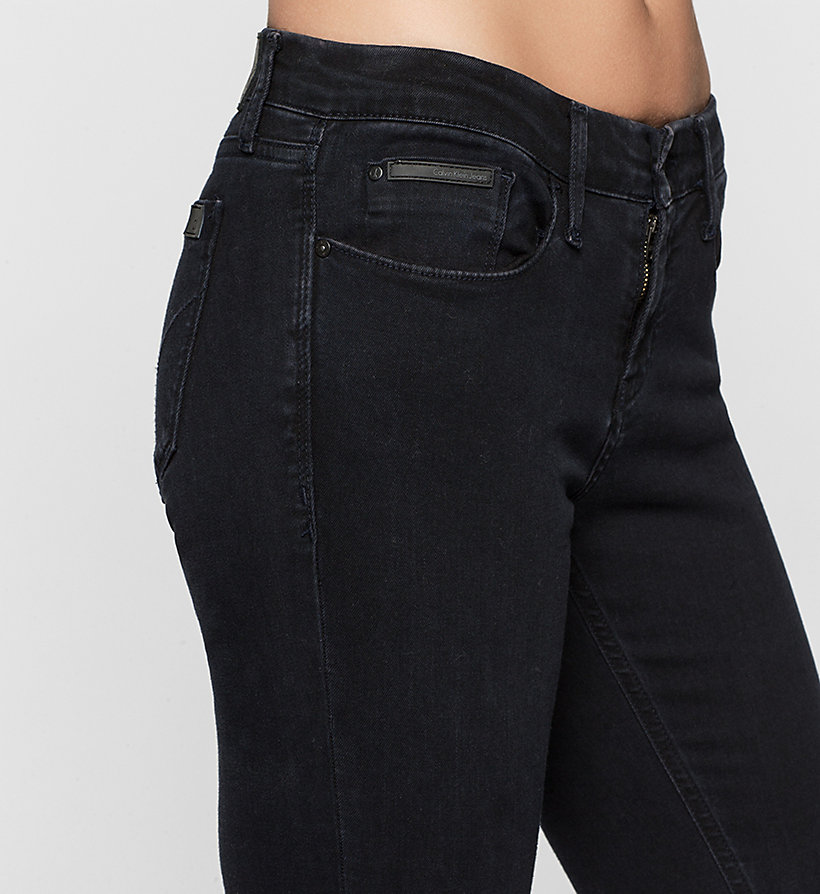 CKJEANS Mid Rise Skinny Jeans - SATIN RINSE STRETCH - CK JEANS JEANS - detail image 2