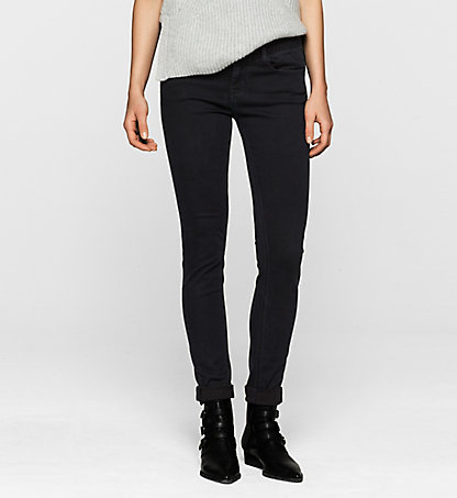 CALVIN KLEIN JEANS Mid-Rise Skinny-Jeans J2EJ201781145