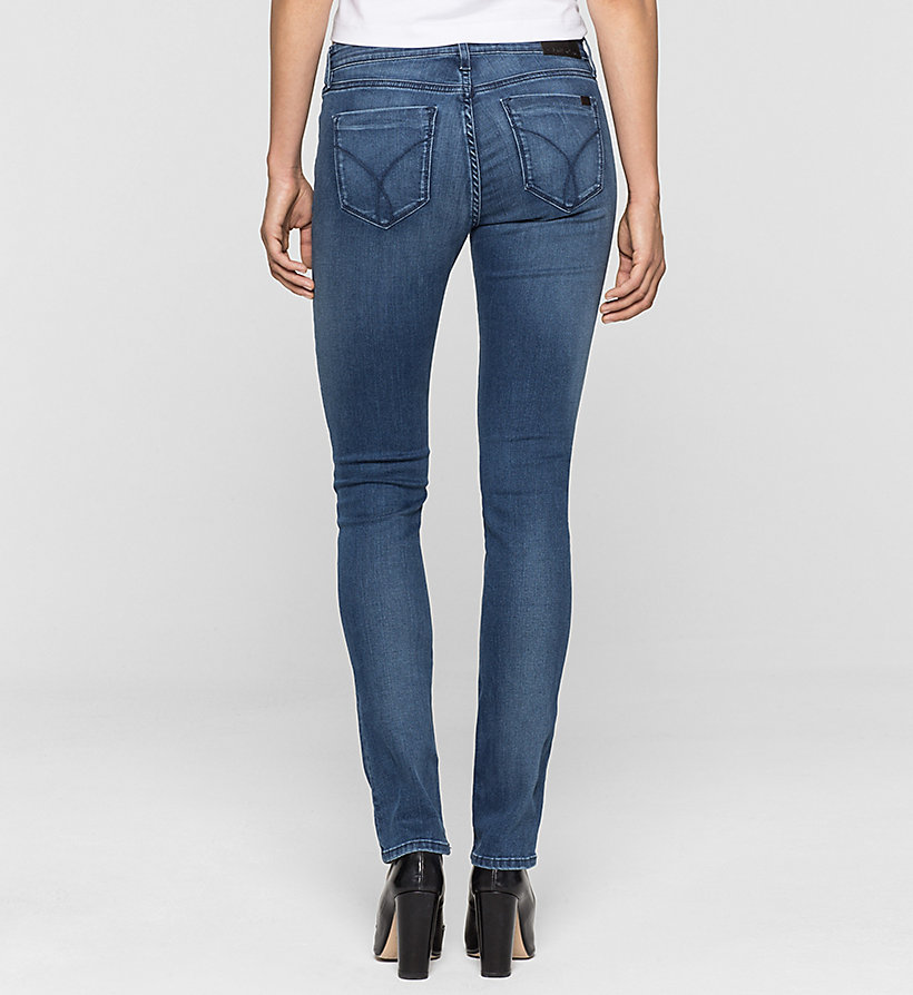 CKJEANS Mid Rise Slim Jeans - SATIN MID STRETCH - CK JEANS JEANS - detail image 1