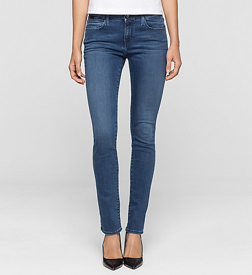 CKJEANS Mid Rise Slim Jeans - SATIN MID STRETCH - CK JEANS Up to 40% - main image