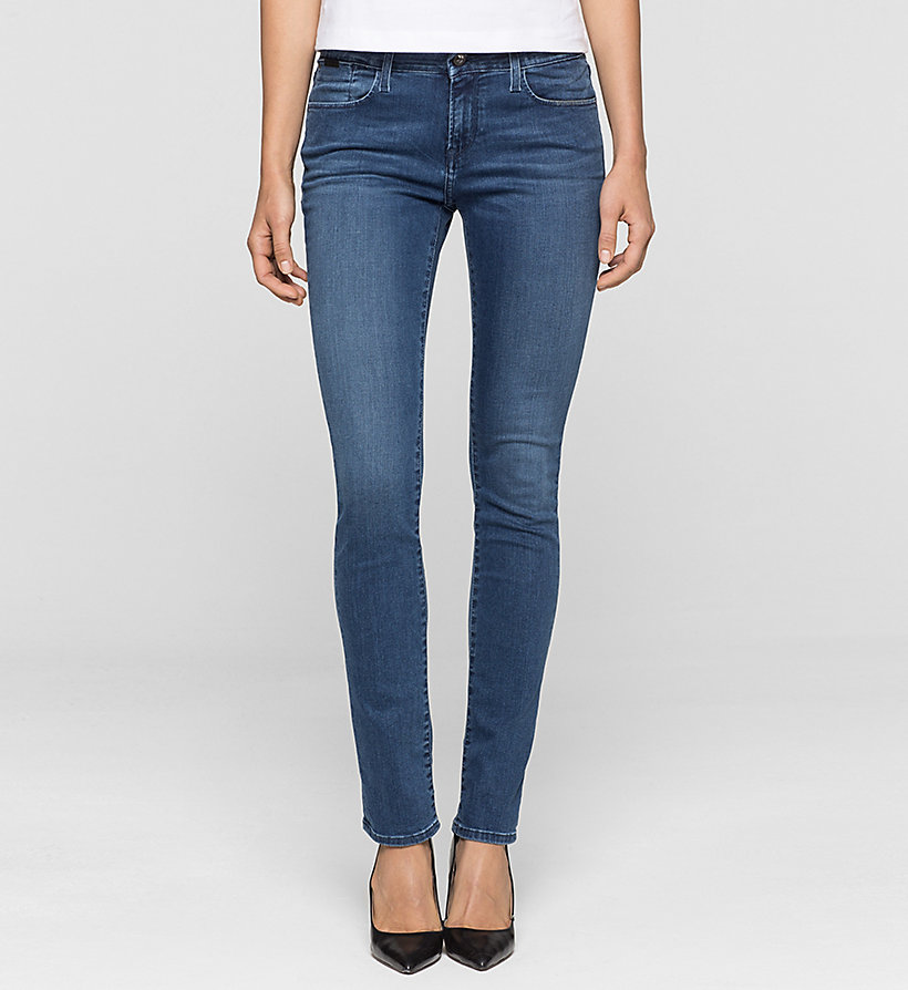 CKJEANS Mid Rise Slim Jeans - SATIN MID STRETCH - CK JEANS JEANS - main image