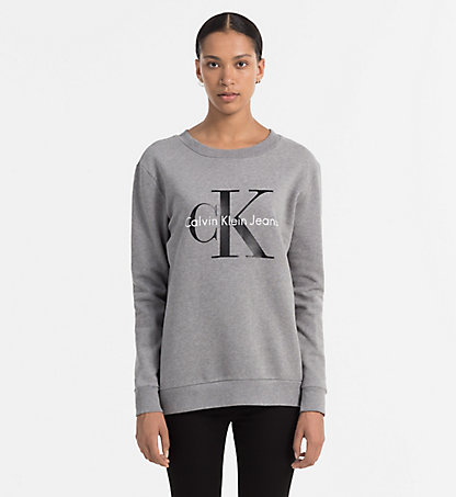 CALVIN KLEIN JEANS Sweat-shirt avec logo - Icon J2IJ202091038