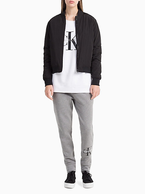 CKCOLLECTION Logo-Sweatshirt - BRIGHT WHITE-PT - CK JEANS  - main image 1