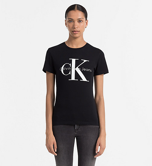 CKCOLLECTION Slim Logo T-shirt - METEORITE - CK JEANS  - main image