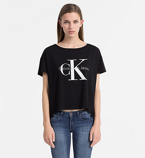 CKCOLLECTION Logo T-shirt - METEORITE - CK JEANS  - main image