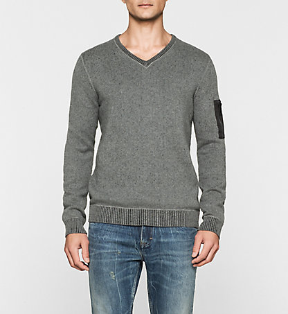 CALVIN KLEIN JEANS Pullover - Sector J30J300565025