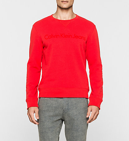 CALVIN KLEIN JEANS Sweat-shirt - Harbor J30J300650679